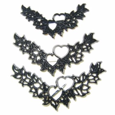 Patchwork Cutters - Heart Garland Set