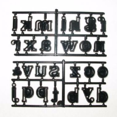 Patchwork Cutters - Large Alphabet Lower Case
