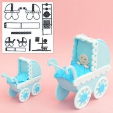 Patchwork Cutters - Make A Pram Set