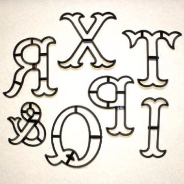 Patchwork Cutters - Extra Large Letter Y