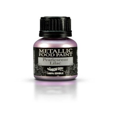 Rainbow Dust - Metallic Food Paint - Pearlescent Lilac