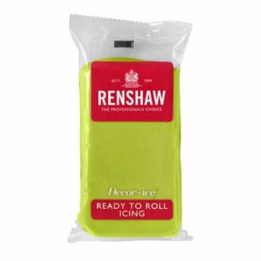 Renshaw - Lime Green - Ready to Roll 250g