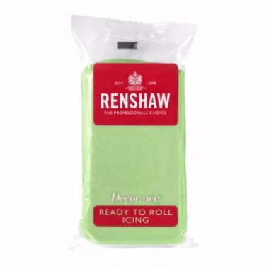 Renshaw   Pastel Green   Ready to Roll 250g