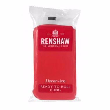 Renshaw - Poppy Red - Ready to Roll 250g