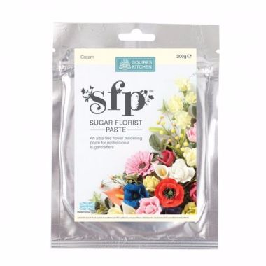 Squires Kitchen - Sugar Florist Paste - Cream