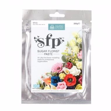 Squires Kitchen - Sugar Florist Paste - White